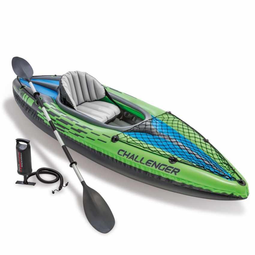 Bateau gonflable noir durable de choc de kayak principal d/'impact de