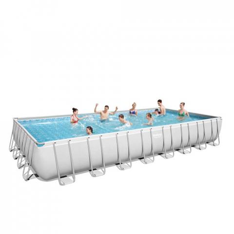 Frame en opblaasbare bovengrondse zwembaden: modellen en ... Steel Frame Homes Near Me