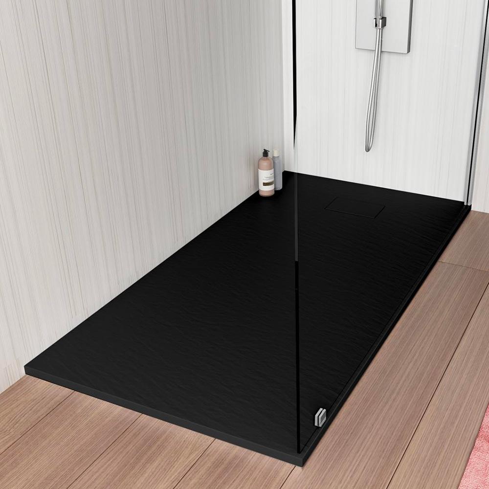 Stone Piatto Doccia Filo Pavimento 110x70 Box Bagno Moderno
