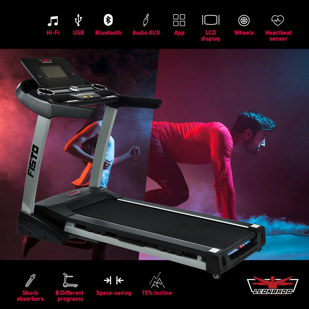 Manual Cinta de Correr Con Pantalla LCD Dispositivo Plegable Entrenador In.tec